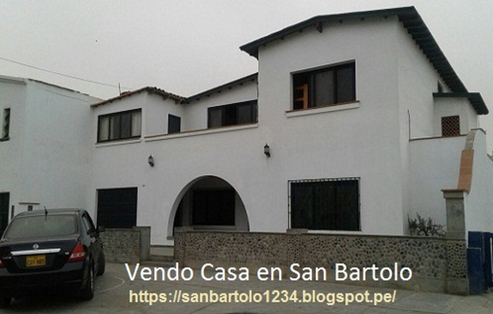 Venta de Casa en San Bartolo, Lima - vista principal