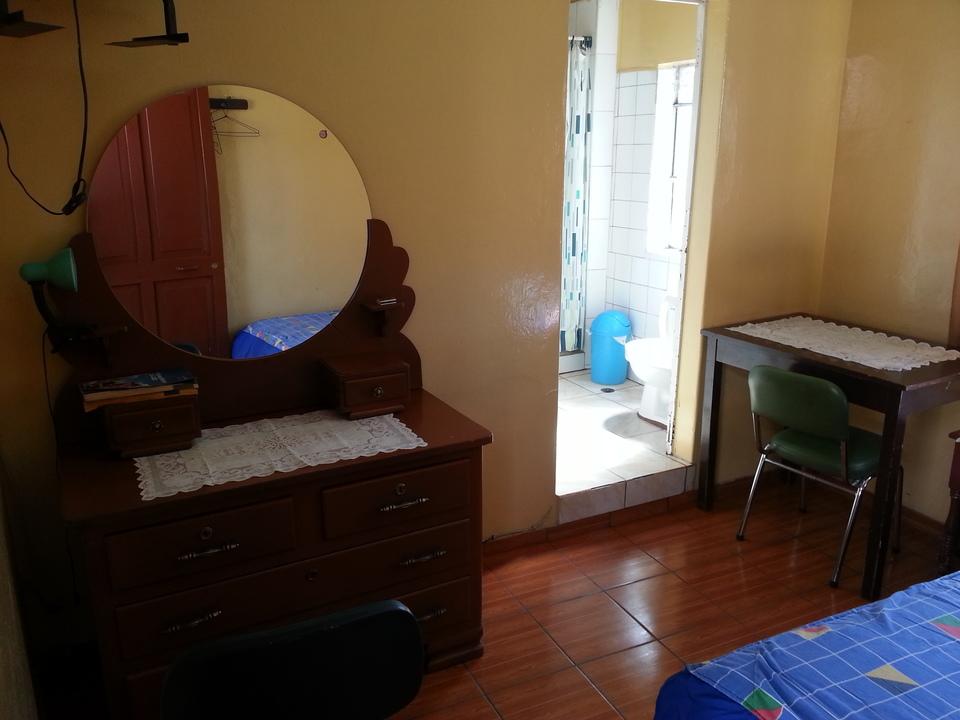 Alquiler de Habitación en Arequipa con 1 baño amoblado - vista principal