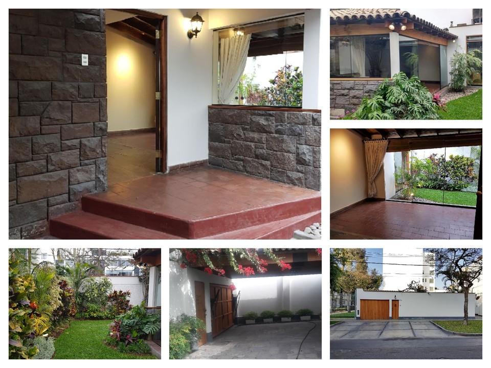Alquiler de Casa en Miraflores, Lima - con 3 dormitorios