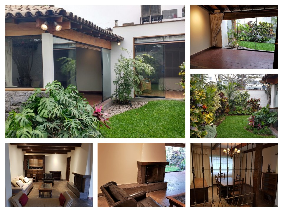 Alquiler de Casa en Miraflores, Lima - con 4 estacionamiento