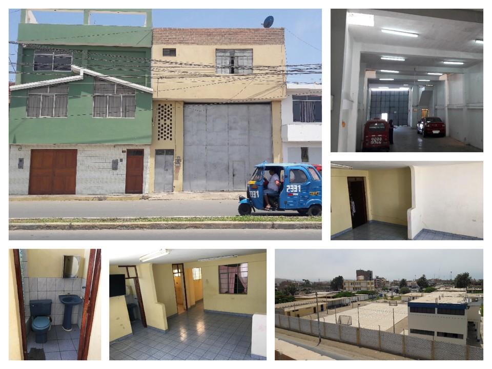 Venta de Local en Huacho, Lima con 4 baños - vista principal