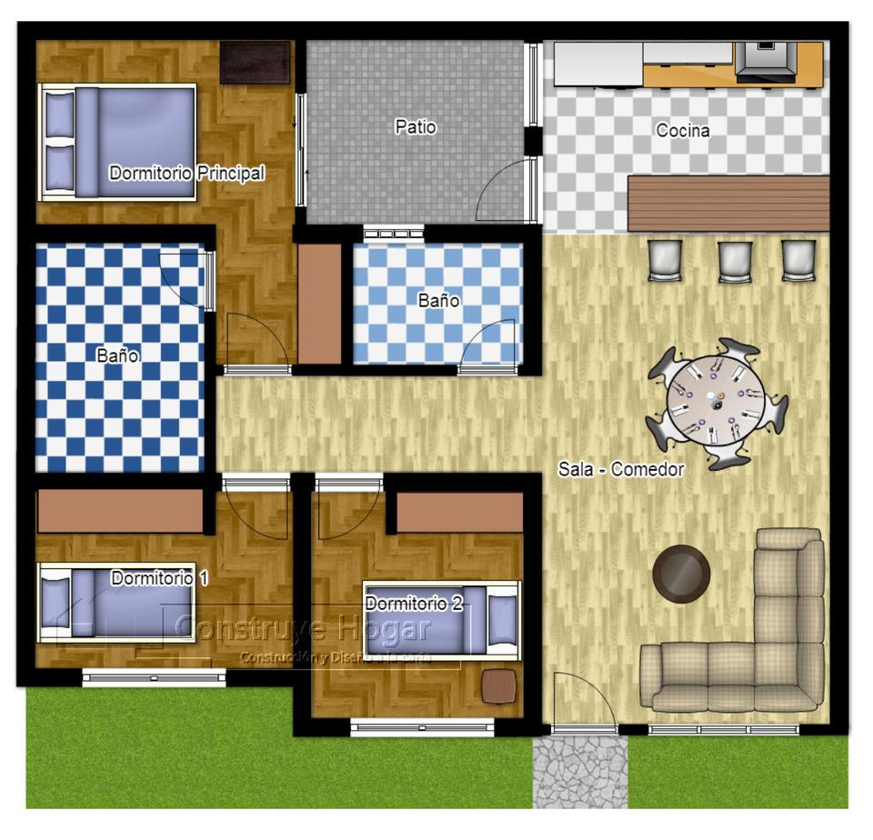 Alquiler de Casa en Tacna con 1 dormitorio - vista principal