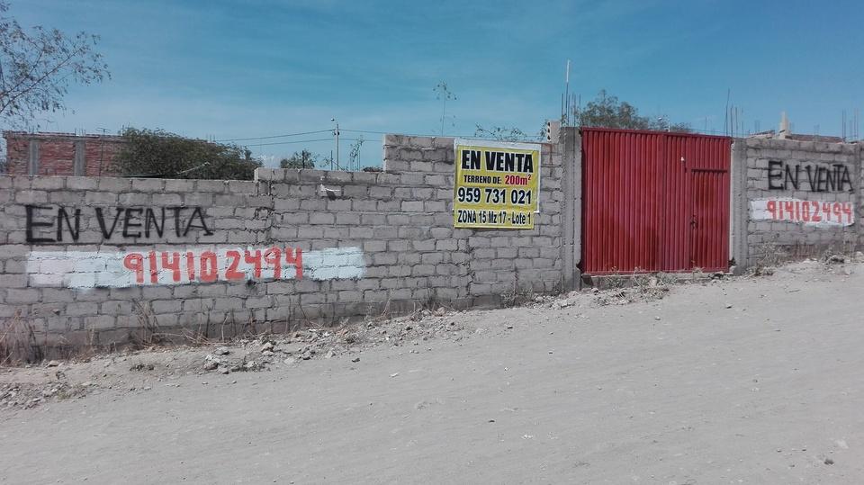 Venta de Terreno en Socabaya, Arequipa 200m2 area total - vista principal