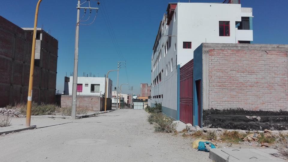 Venta de Terreno en Cerro Colorado, Arequipa - con vista urbano