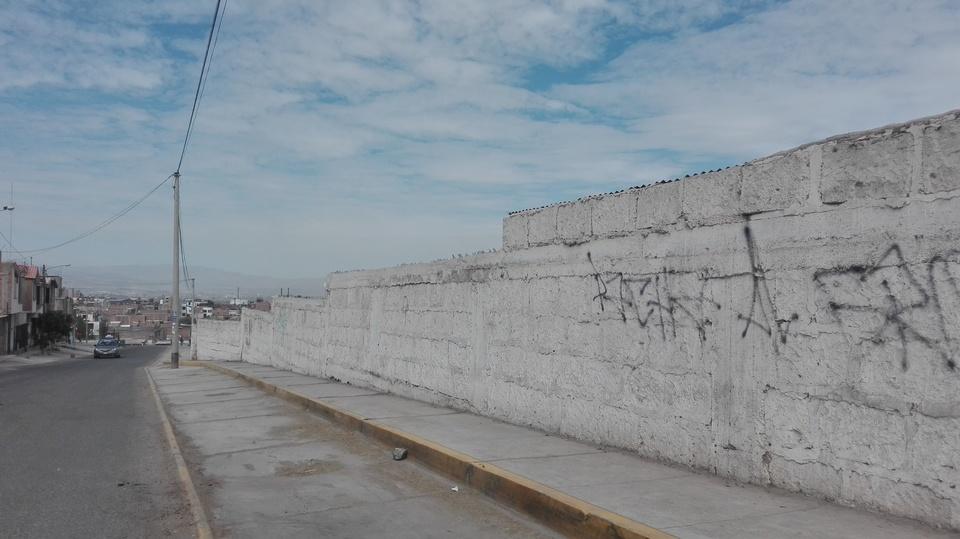 Venta de Terreno en Cerro Colorado, Arequipa 3600m2 area total - vista principal
