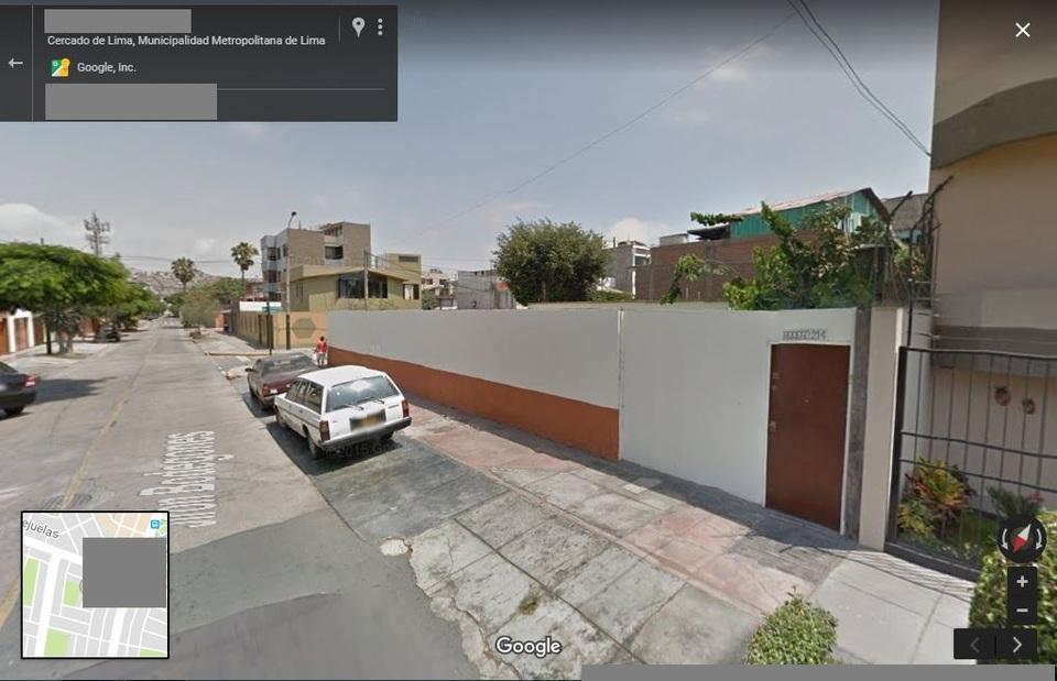 Venta de Terreno en Santiago De Surco, Lima - 27 metros fondo