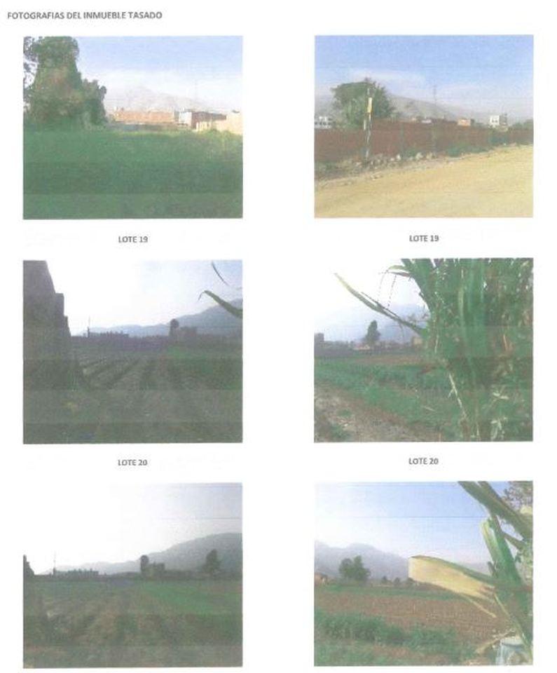 Venta de Terreno en Lurigancho, Lima - estado Entrega inmediata