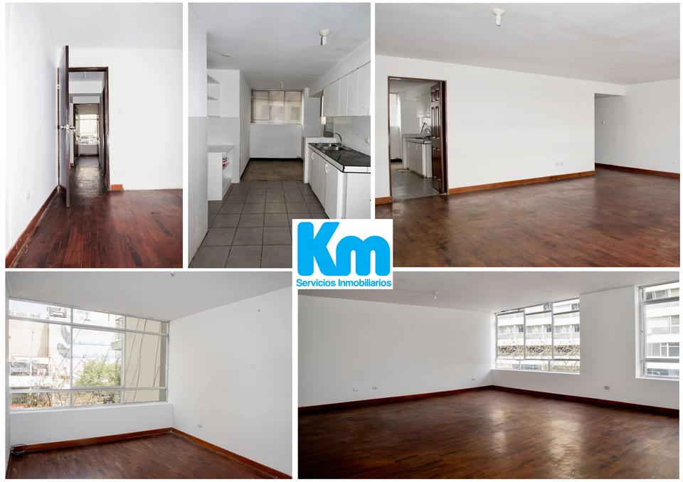 Alquiler de Departamento en Miraflores, Lima 80m2 area total - vista principal