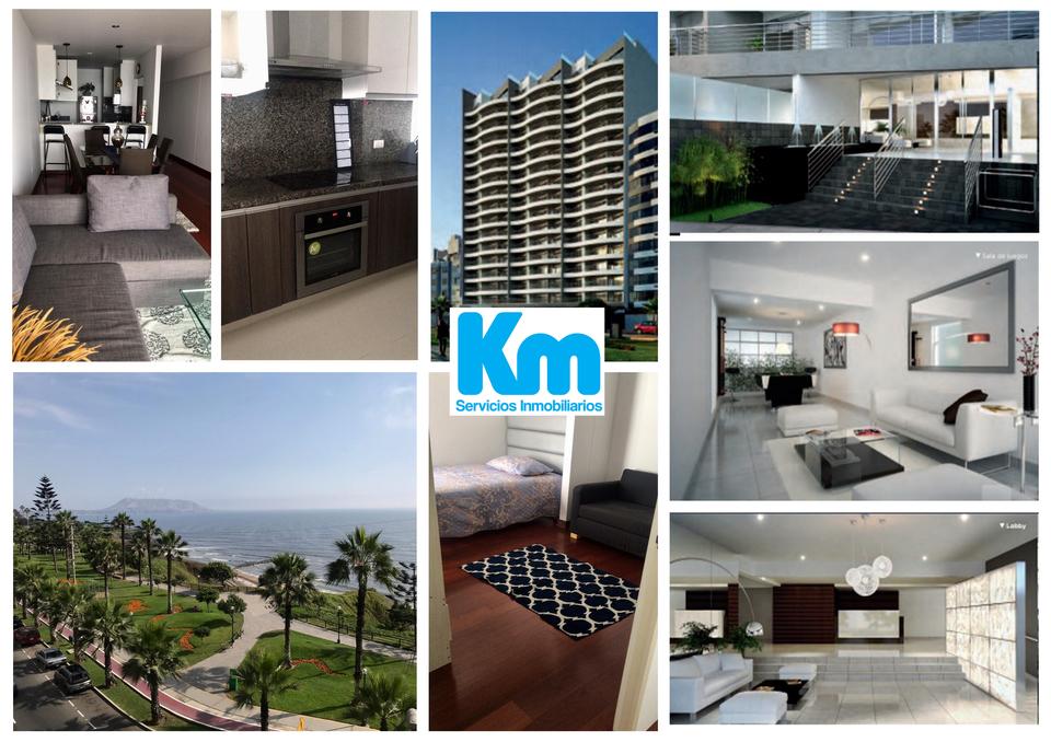 Alquiler de Departamento en Miraflores, Lima 108m2 area total - vista principal