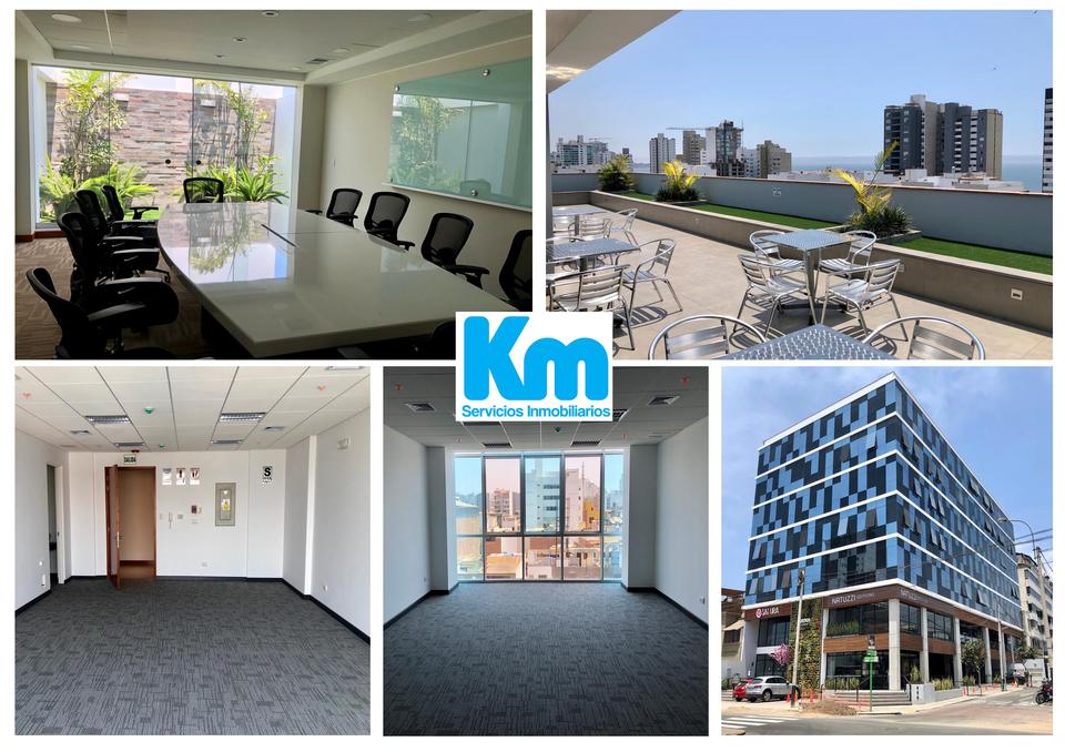 Alquiler de Oficina en Miraflores, Lima 71m2 area total - vista principal