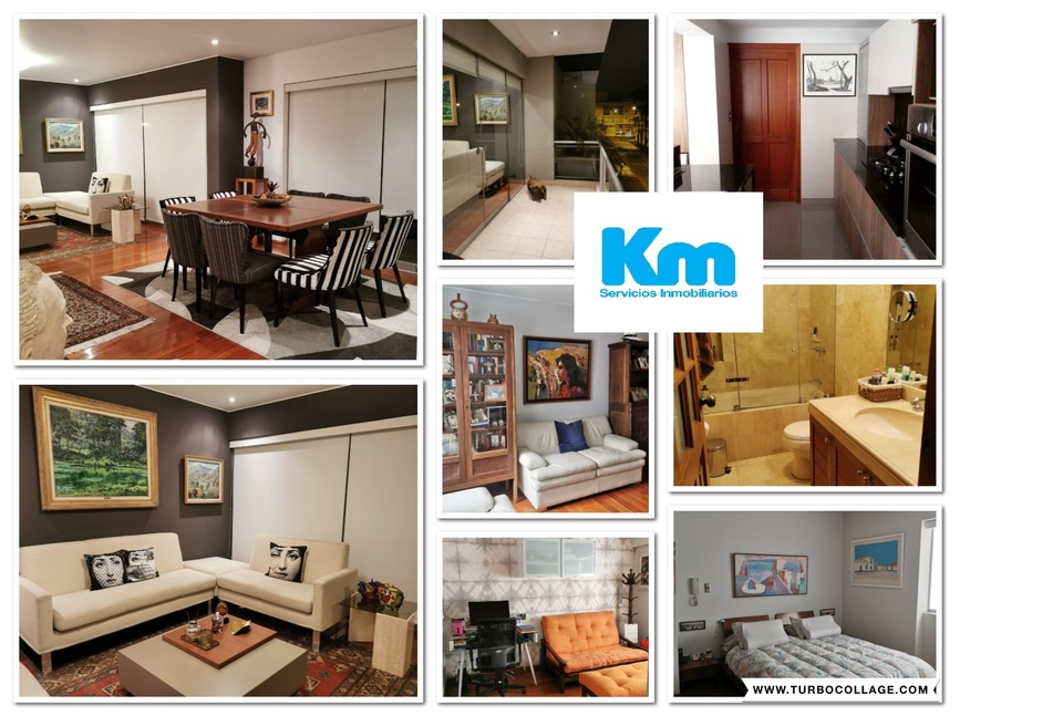 Venta de Departamento en Santiago De Surco, Lima con 3 dormitorios
