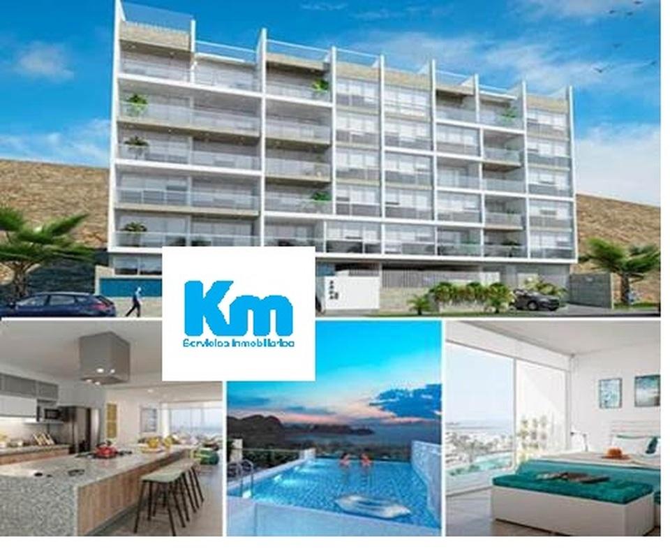 Venta de Departamento en Santa Maria Del Mar, Lima con 3 dormitorios