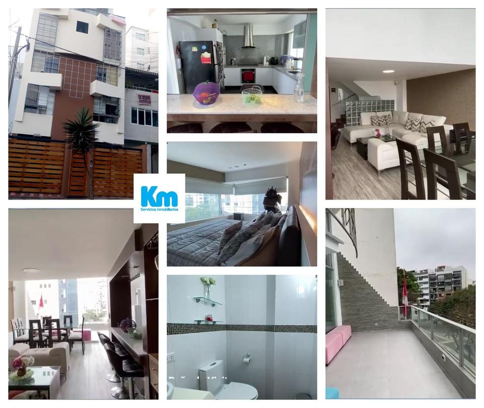 Venta de Departamento en Miraflores, Lima con 6 dormitorios - vista principal