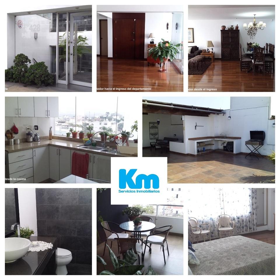 Venta de Departamento en Miraflores, Lima con 3 dormitorios