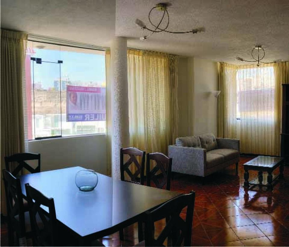 Alquiler de Departamento en Cayma, Arequipa con 3 dormitorios - vista principal