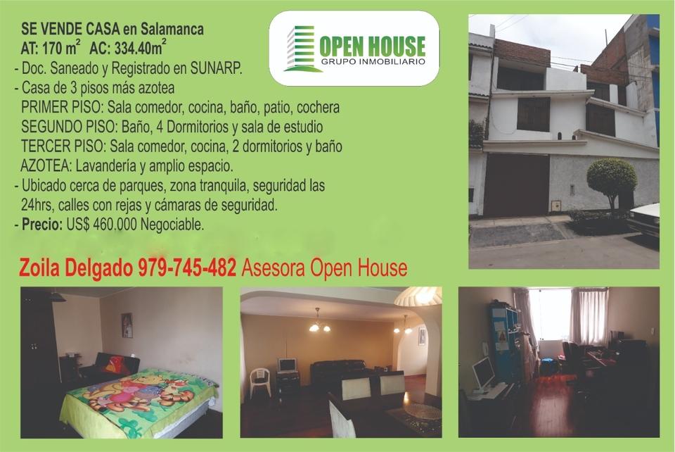 Venta de Casa en San Luis, Lima 170m2 area total