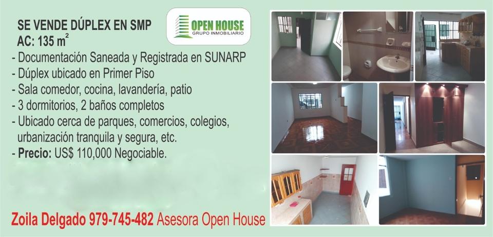Venta de Departamento en San Martin De Porres, Lima 135m2 area total - vista principal