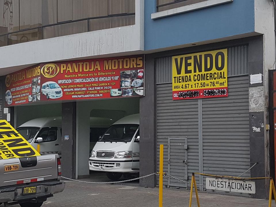Venta de Local en Miraflores, Arequipa