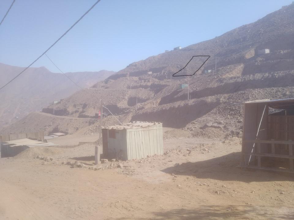 Venta de Terreno en San Juan De Lurigancho, Lima 500m2 area total