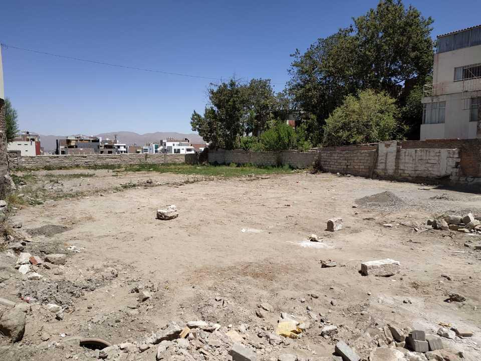 Venta de Terreno en Yanahuara, Arequipa 1041m2 area total
