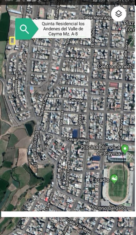 Venta de Terreno en Cayma, Arequipa -vista 5
