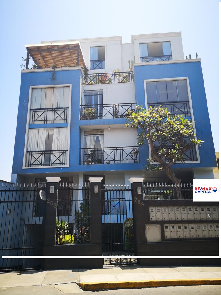 Venta de Departamento en Barranco, Lima con 4 dormitorios