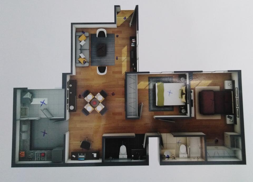 Alquiler de Departamento en Lince, Lima con 2 dormitorios