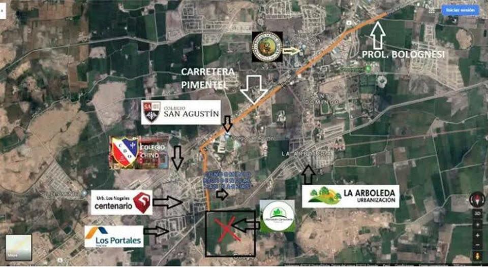 Venta de Terreno en Pimentel, Lambayeque - 90m2 area total