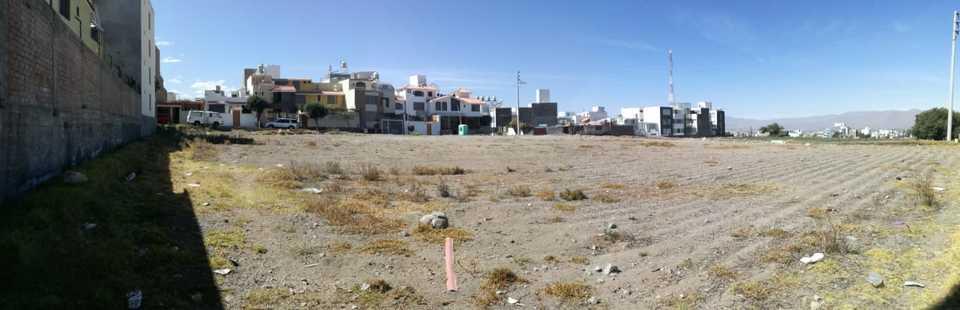 Venta de Terreno en Cayma, Arequipa 2750m2 area total - vista principal