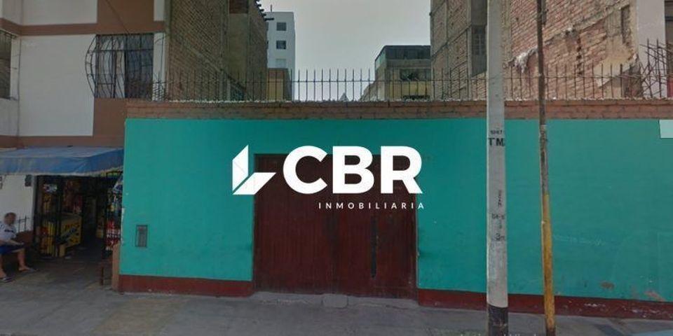 Venta de Terreno en Breña, Lima 232m2 area total