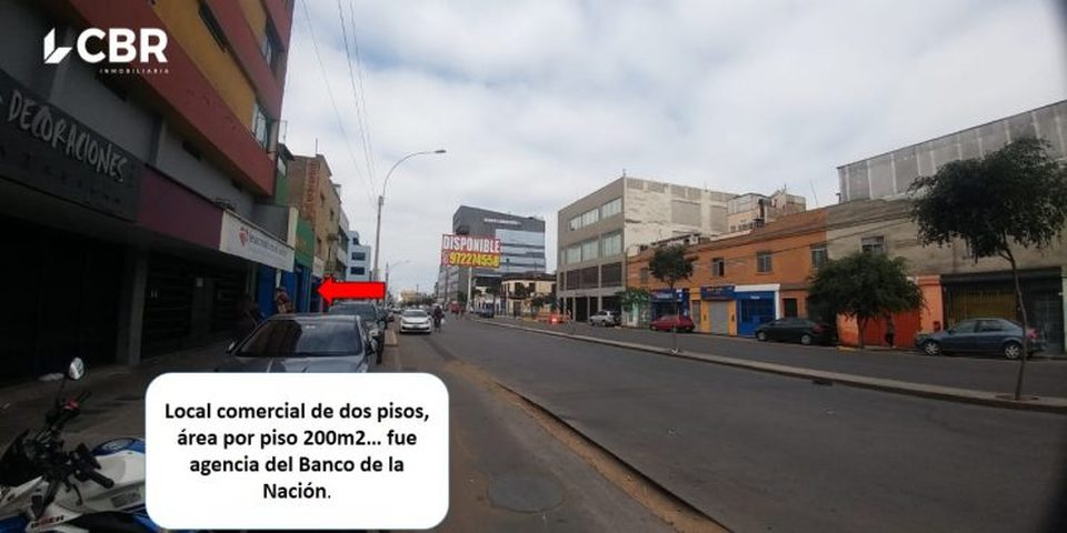 Alquiler de Local en La Victoria, Lima - vista principal