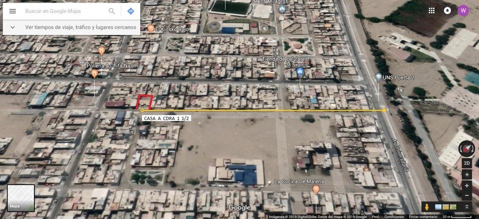Alquiler de Habitación en Nuevo Chimbote, Ancash - vista principal