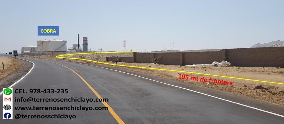 Venta de Terreno en Reque, Lambayeque 218700m2 area total - vista principal