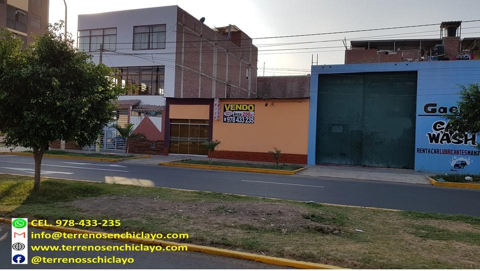 Venta de Local en Chiclayo, Lambayeque con 1 baño - vista principal