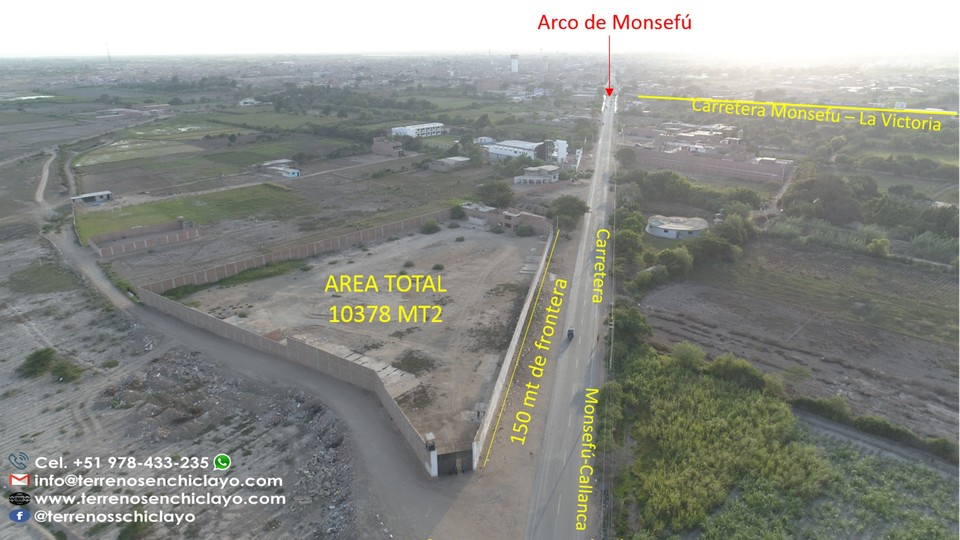 Venta de Local en Chiclayo, Lambayeque 1378m2 area total