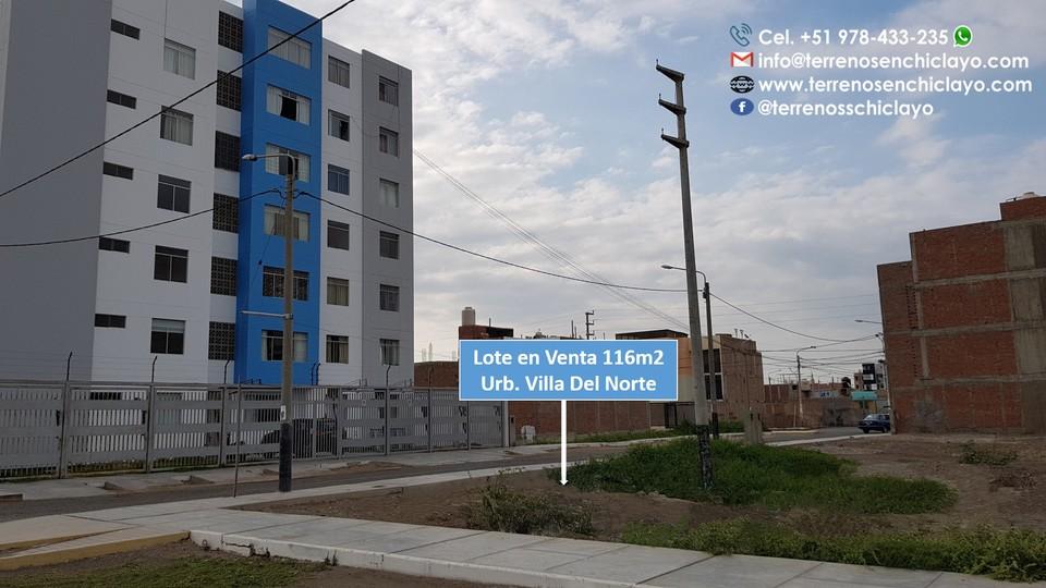 Venta de Terreno en Chiclayo, Lambayeque 130m2 area total