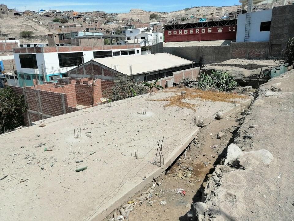 Venta de Terreno en Moquegua 600m2 area total 15 metros fondo - vista principal