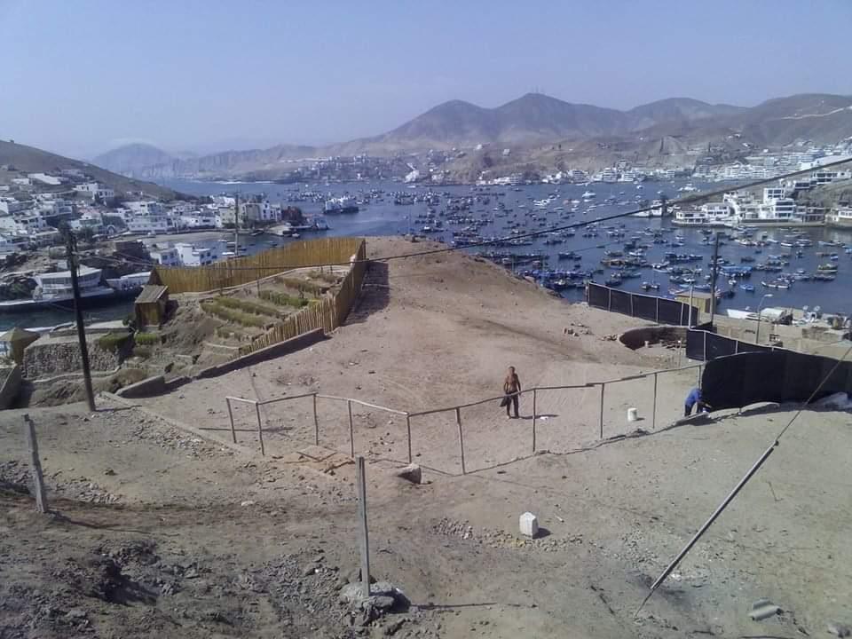 Venta de Terreno en Pucusana, Lima 600m2 area total - vista principal