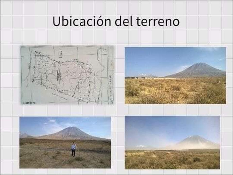 Venta de Terreno en Chiguata, Arequipa 20000m2 area total