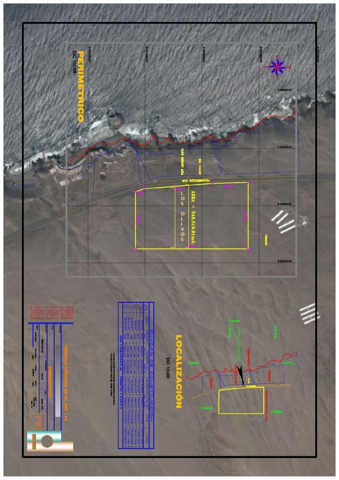 Venta de Terreno en Asia, Lima 4801991m2 area total