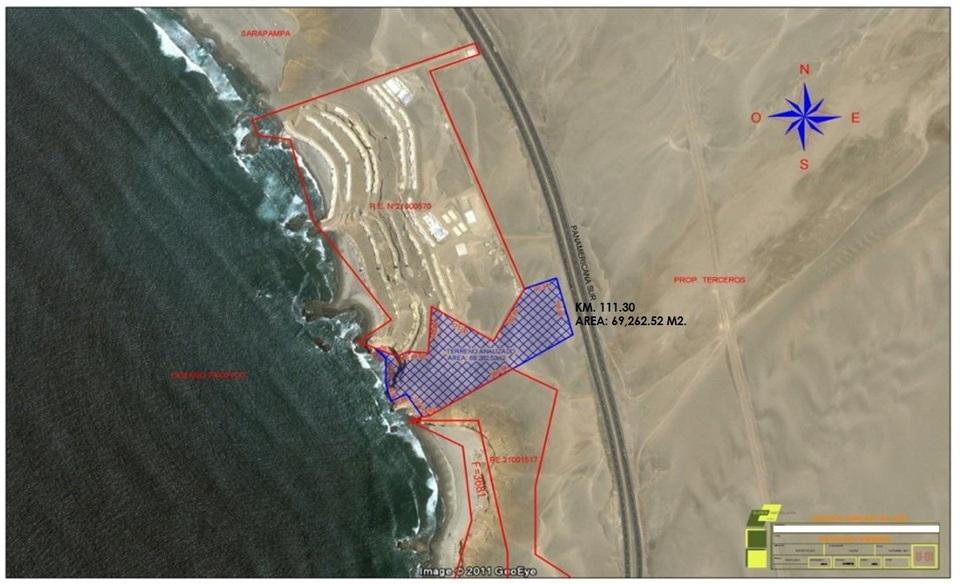 Venta de Terreno en Asia, Lima 69262m2 area total