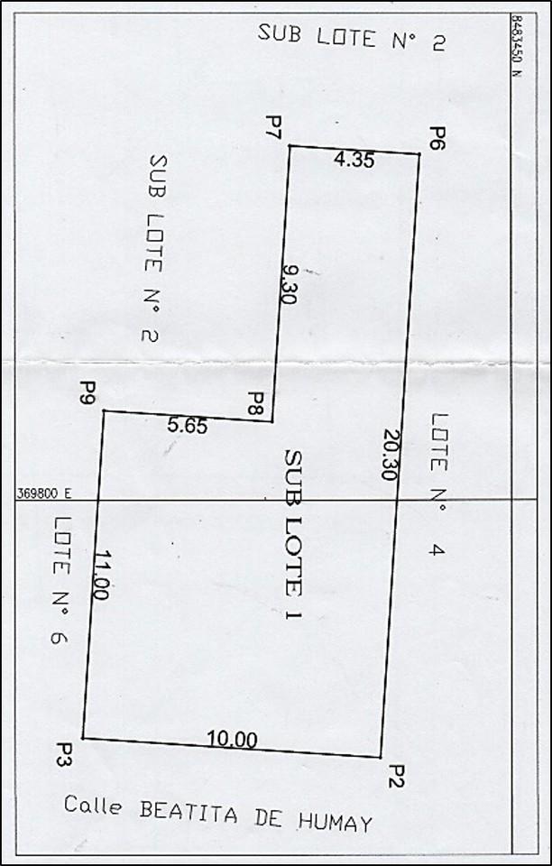 Venta de Terreno en Pisco, Ica 150m2 area total