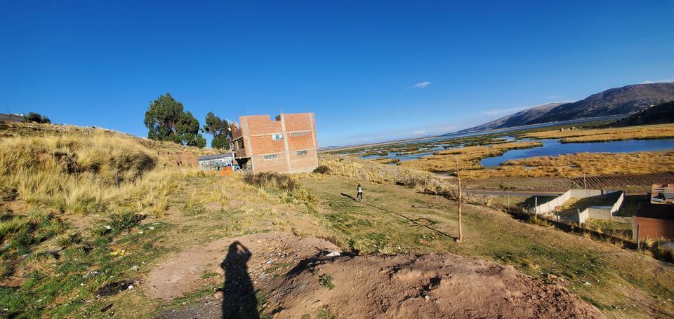 Venta de Terreno en Puno 400m2 area total - vista principal