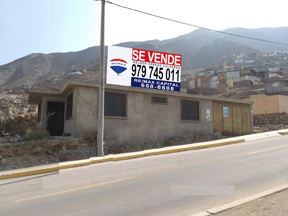 Venta de Terreno en Pachacamac, Lima 1250m2 area total