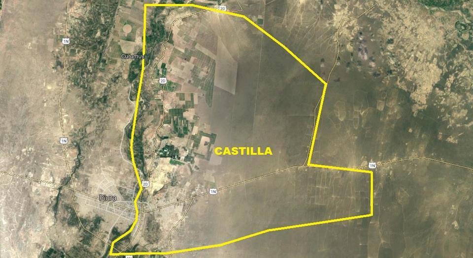 Venta de Terreno en Castilla, Piura 11682m2 area total