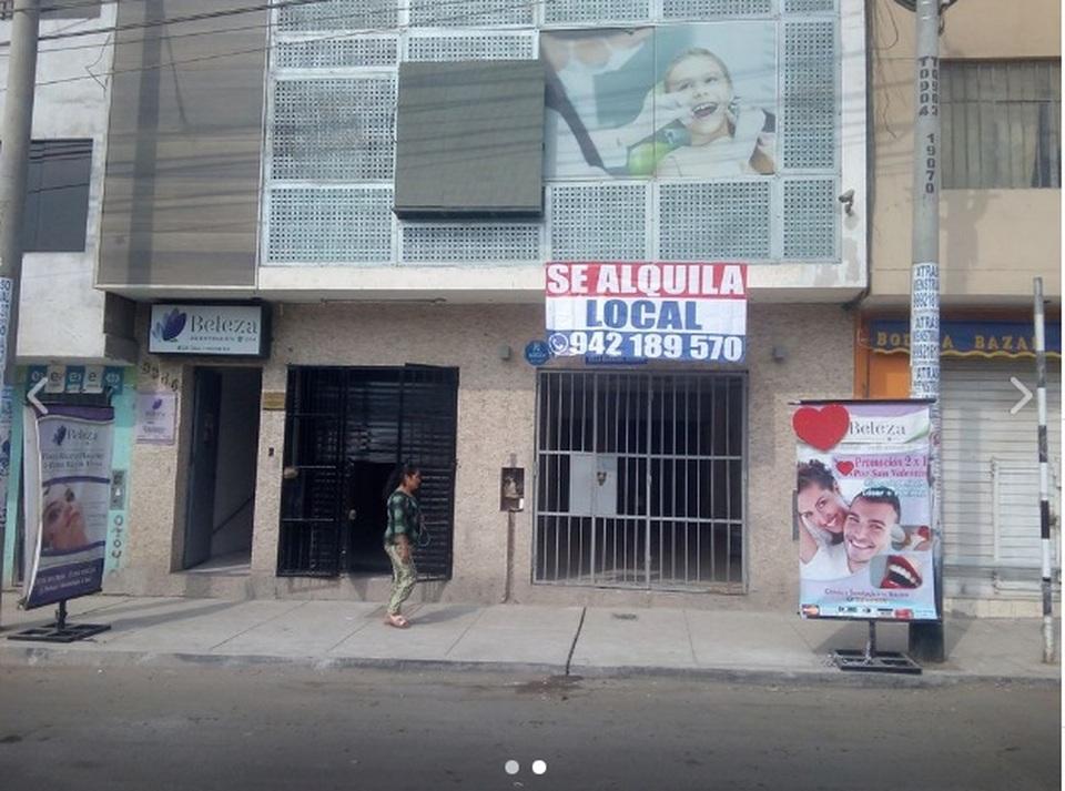 Alquiler de Local en Villa Maria Del Triunfo, Lima con 1 baño