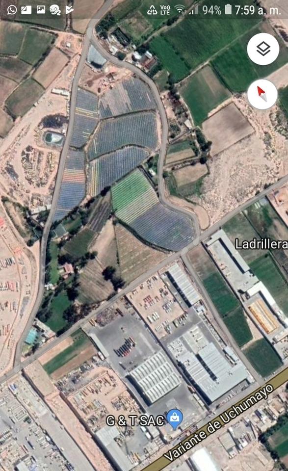 Venta de Terreno en Uchumayo, Arequipa 35100m2 area total