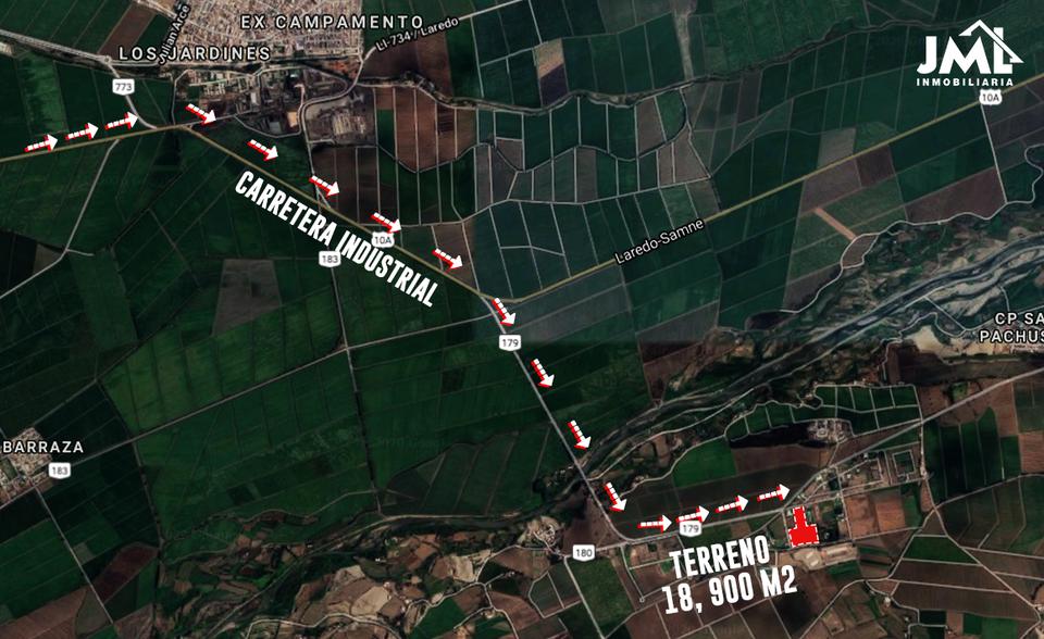 Venta de Terreno en Trujillo, La Libertad 18900m2 area total