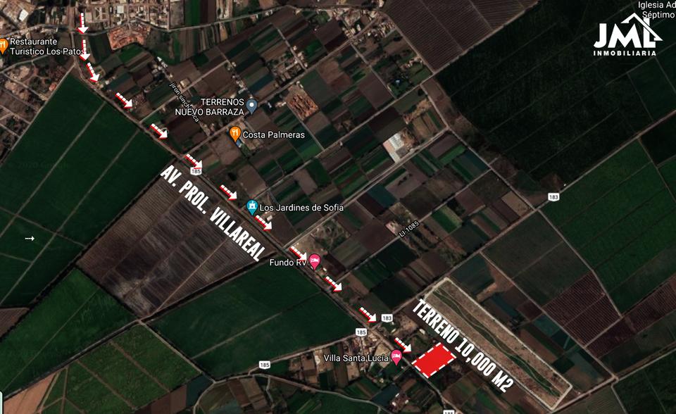 Venta de Terreno en Trujillo, La Libertad 10000m2 area total