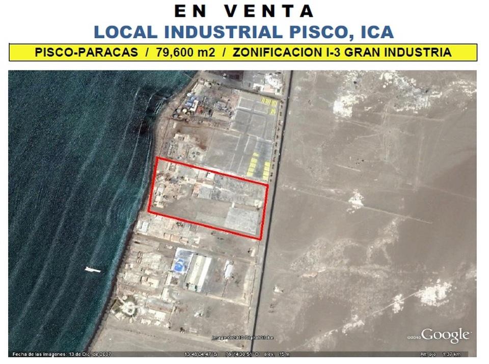 Venta de Local en Paracas, Ica - vista principal